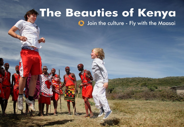 Beauties of Kenya – Fly with the Maasai
