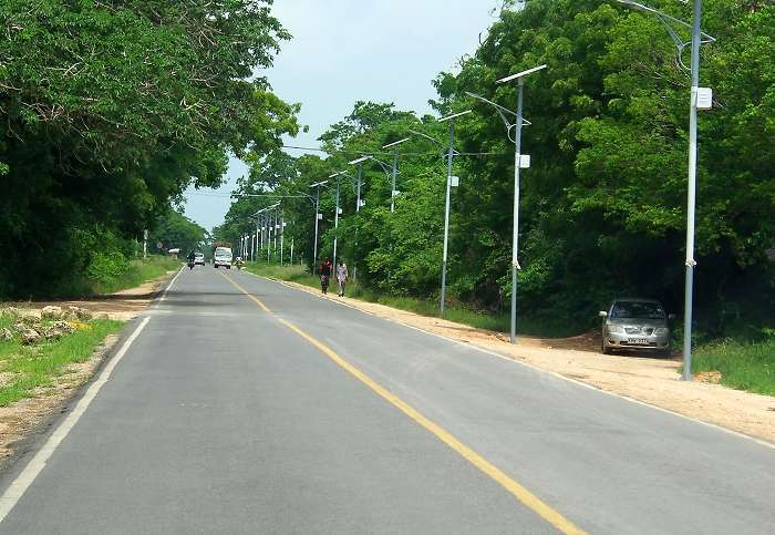 Well Done – Diani Street Lights-Up